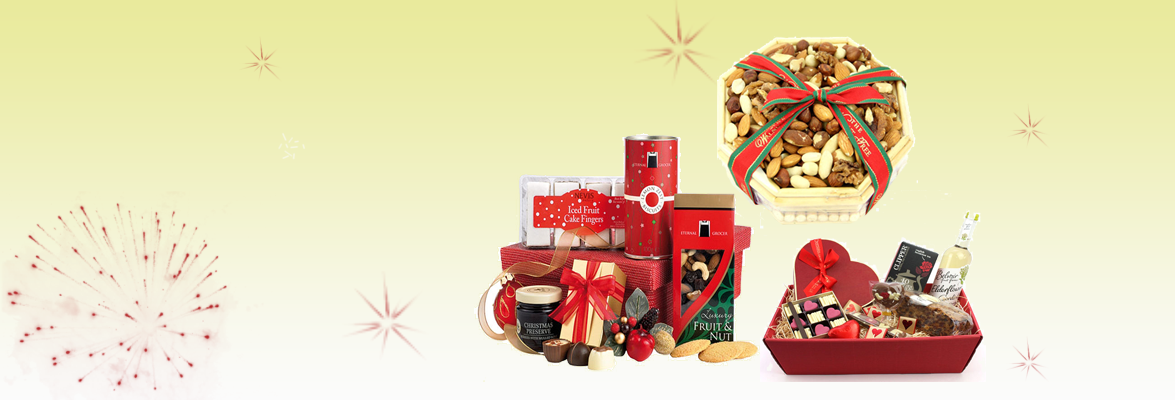 Say thank you to someone with a nice gift hamper online
