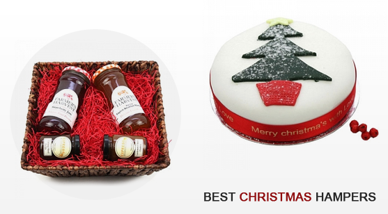 2 best Christmas hampers in UK