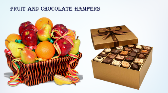 12_fruit and chocolate hampers