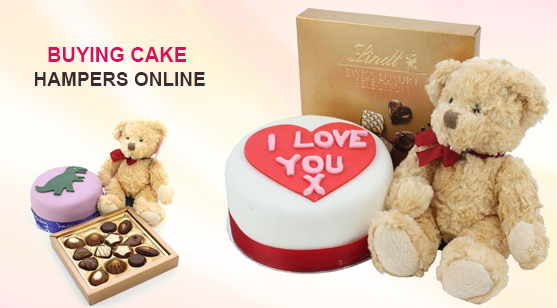 Buying cake hampers online