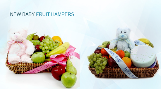 New Baby Fruit Hampers