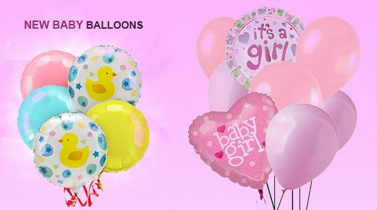 new baby ballon