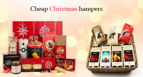 Beautiful Christmas Hampers making your event alluring