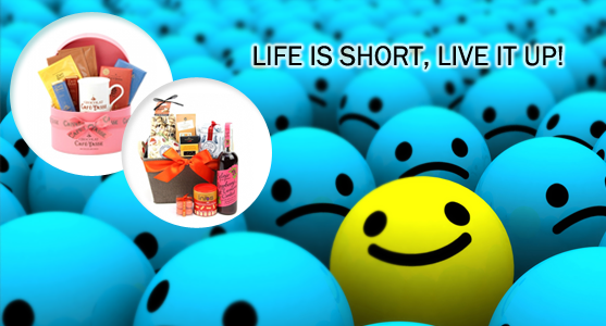 Life is short, live it up!