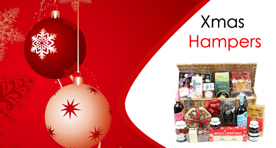 Which hampers make up the best Xmas Hampers?