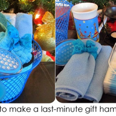 How to make a last-minute gift hamper!